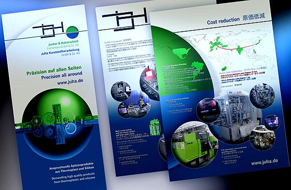 Schilder, Roll-Up-Displays, Backlight-Panels, Dienstleister, B2B.